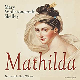 Mathilda audiobook cover art