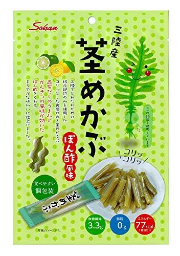 壮関 三陸産茎めかぶぽん酢風味 95g ×6袋