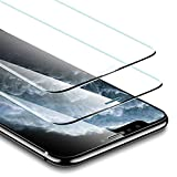 ESR Protector de Pantalla Cristal Templado para iPhone 11 Pro MAX/iPhone XS MAX. Sin Bisel Lateral....