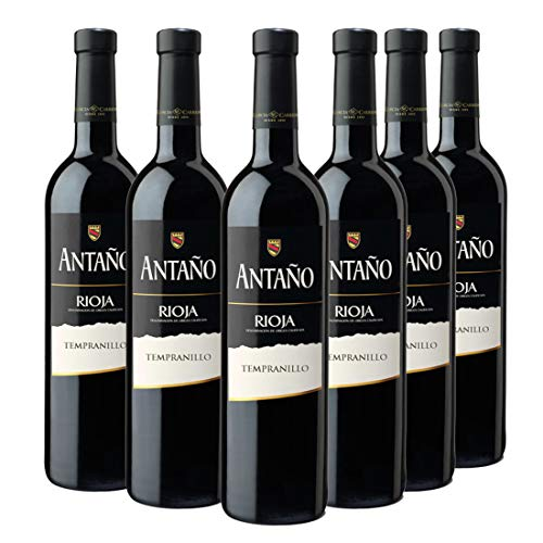 Don Simon Antaño Tempranillo Vino Tinto D.O Rioja - Pack de 6 Botellas x 750 ml