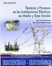 Técnicas y procesos en las instalaciones eléctricas en media y baja tensión
