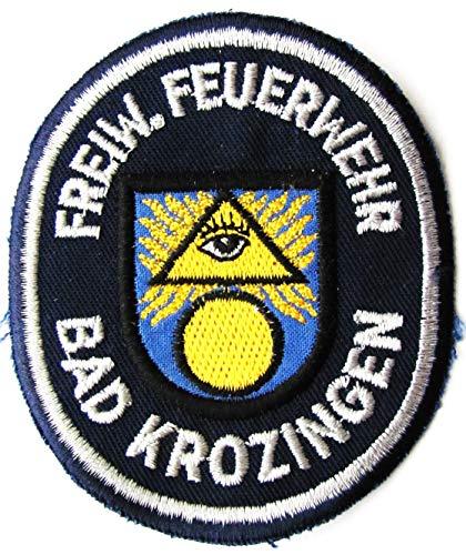 Freiwillige Feuerwehr - Bad Krozingen - Ärmelabzeichen - Abzeichen - Aufnäher - Patch - Motiv 1