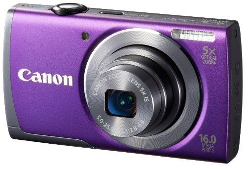 Canon デジタルカメラ PowerShot A3500 IS(パープル) 広角28mm 光学5倍ズーム PSA3500IS(PR)