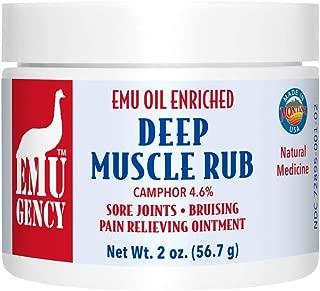 Montana Emu Ranch - Emu Body Balm 2 Ounces - Enhanced with Pure Emu Oil