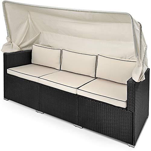 Deuba Liege / Couch mit faltbarem Sonnendach