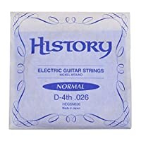 HISTORY HEGSN026 エレキギター弦 D-4th .026 バラ弦1本 (ヒストリー)