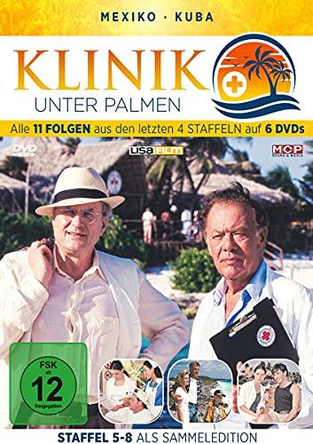Klinik unter Palmen - Alle 11 Folgen aus den letzten 4 Staffeln auf 6DVDs