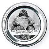 Clovelly Soap Co. Natürlicher handgemachter Bartbalsam Zedernholz und Zitronengras 40g Dose