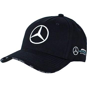 Mercedes AMG Petronas F1 Driver Valtteri Bottas Berretto Nero Ufficiale 2019