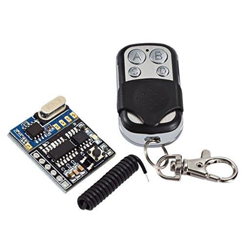 Sharplace Commutateur De Télécommande sans Fil Récepteur De Relais 433MHz avec Antenne