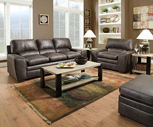 Lane Home Furnishings Loveseat, Dark Gray
