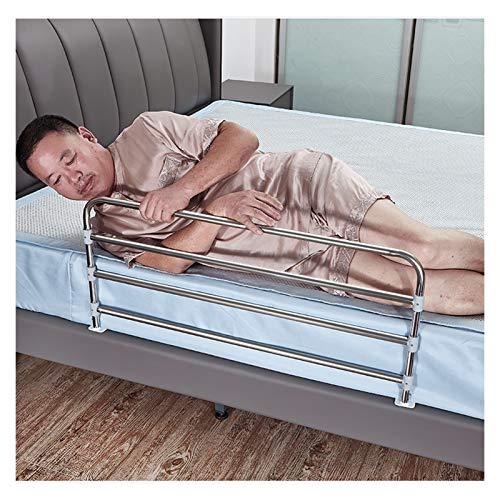 GHHZZQ Riel de Cama de Seguridad para Discapacitado Mayor Embarazada Anti-caída Anti-caída Plegable Barandillas de Cama 4 Altura Ajustable (Color : 60cm)