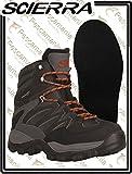 Scierra Botas DE VADEO X-Force Wading Shoe - Black, 45, Felt