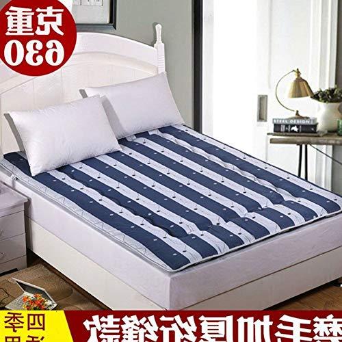 YLCJ Opvouwbare matras, opvouwbaar, voetmat, vochtafstotend, 120 x 200 cm (47 x 79 inch)