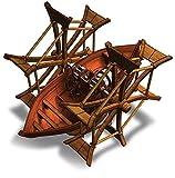 Leonardo da Vinci Schaufelradboot Modell Bausatz