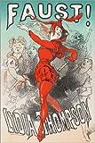 Poster 61 x 91 cm: Faust von Goethe von Jules Cheret -