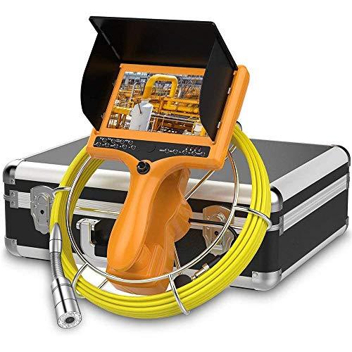 Power Banks Pipeline inspectiecamera IP68 waterdicht videosysteem afvoerkanaal industriële endoscoop LCD-monitor 120 ° camera met 20 m kabel