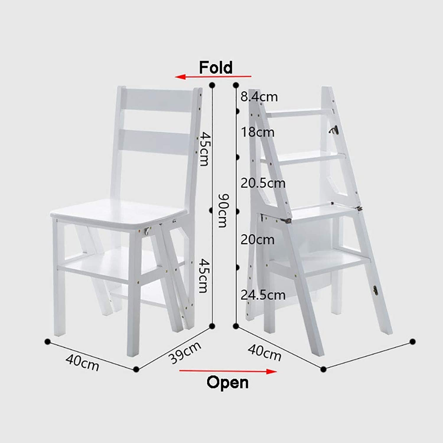 ZLL Household Household Household Step Stool, Photography Folding ...