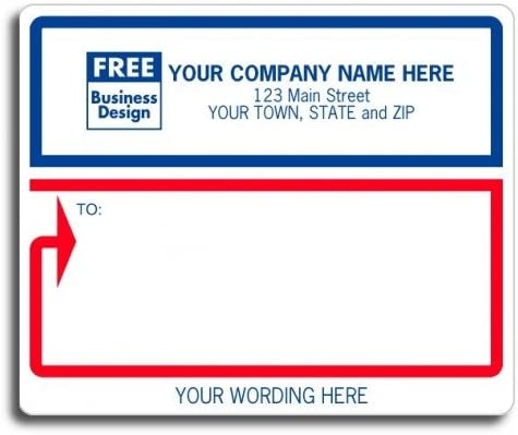 safety Custom New Free Shipping Wordings Mailing Labels