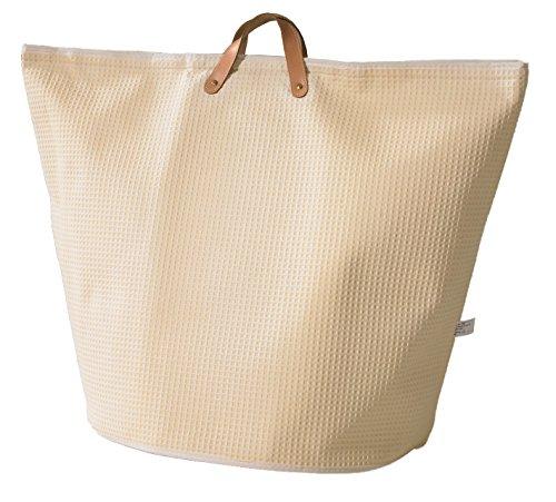artra design GmbH wasverzamelaar waszakken van rubber beige breed waszak waszak wasmand multifunctionele tas