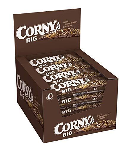 Corny Big Dunkle Schoko-Cookies, Müsliriegel, 24er Pack (24 x 50g)