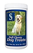 The perfect stocking stuffer, birthday gift, or just a way to show your team spirit! Your dog is with you every step of the way as you cheer on your team. Reward your dog with a treat for being such a great fan! Made with dried blueberry and dried cr...