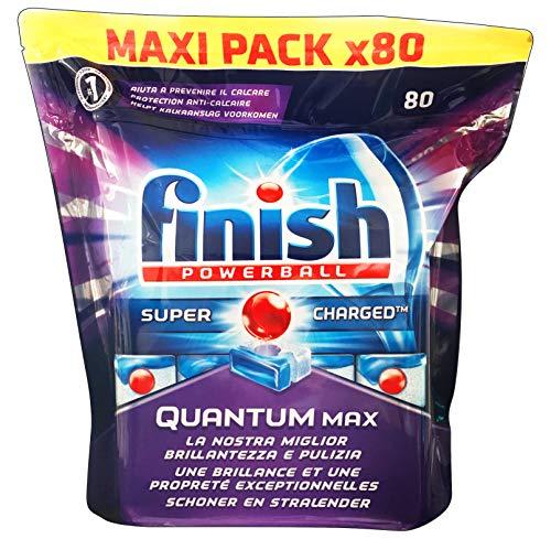 FINISH Quantum Max 80 Reguläre Gr.1240 Tabs Geschirrspüler Pads Reinigungsmittel