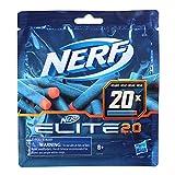 Nerf- Elite 2.0 20 Dardos (Hasbro F0040EU4)