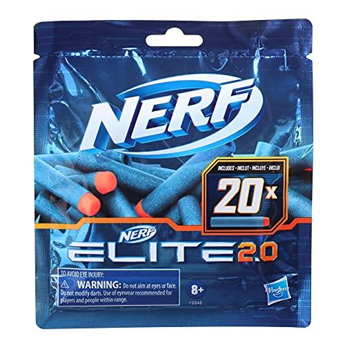 20 Dardos Nerf Elite 2.0