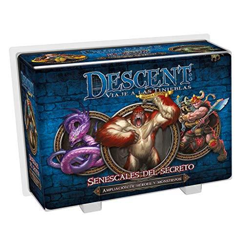 Fantasy Flight Games- Descent: senescales del secreto - español, Color (FFDJ33) , color/modelo surtido