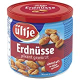 ültje Erdnüsse, pikant gewürzt, ohne Fett geröstet, 16er Pack (16 x 190 g)