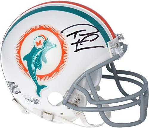Tua Tagovailoa Miami Dolphins Autographed Riddell Throwback Mini Helmet - Fanatics Authentic Certified