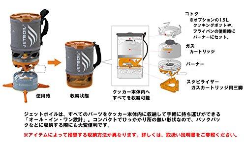 JETBOIL(ジェットボイル)バーナーSUMOCARBカーボン1824382【日本正規品】PSマーク取得品