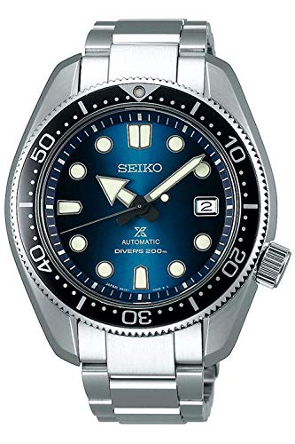 Seiko prospex Herren Uhr analog Automatik mit Edelstahl Armband SPB083J1