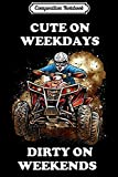 Composition Notebook: Four Wheeler ATV Drivers Riding Womens Mens Journal/Notebook Blank Lined Ruled 6x9 100 Pages