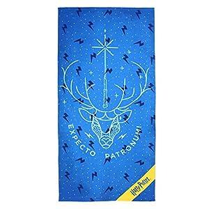Cerdá 2200003920 Toalla Polyester Harry Potter, Azul, 70x140cm 4
