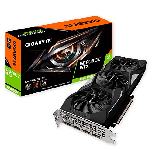 Gigabyte GeForce GTX 1660 SUPER Gaming OC 6G Grafikkarte