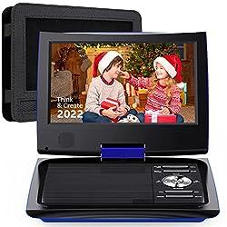 "Image of SUNPIN 11"" Portable DVD...: Bestviewsreviews"