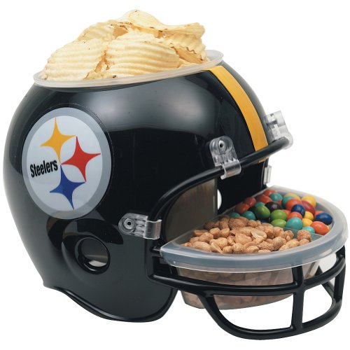 NFL Snack Helmet Pittsburgh Steelers Serving Bowl Tailgating Football Party