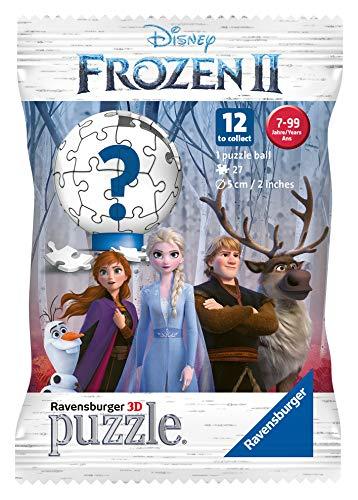 Ravensburger- Puzzle 3D 27 pièces blindpack La Reine Des Neiges 2 Enfant, Multicolor (4005556116829)