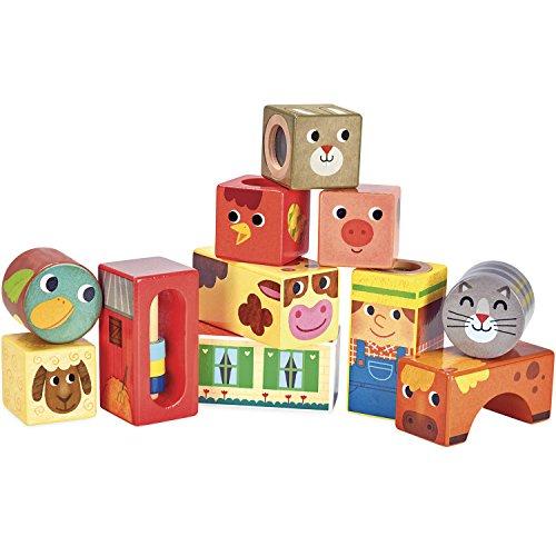 Vilac vilac2102Farm Musical Blocks