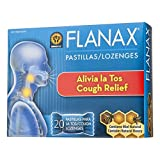 Flanax Cough Relief Throat Lozenges 20 ea (Pack of 12)