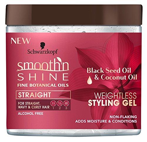 Smooth N Shine Straight Gel Weightless 16 Ounce Jar (473ml)