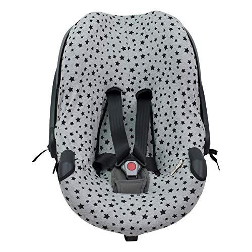 JANABEBE Funda para silla de auto BeSafe iZi Go (Black Star)