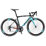 SAVADECK Warwind5.0 Bici da strada in carbonio, 700C Bici da Corsa su Strada con Shimano 105 R7000...