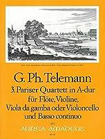 TELEMANN - Cuarteto en La Mayor (TWV:43/a1) (Partitura/Partes)