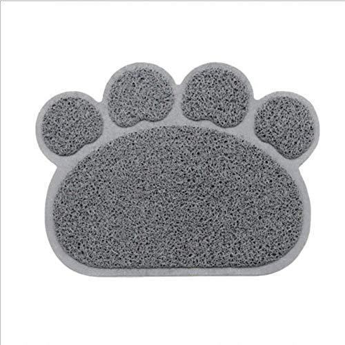 ZXL Kattenmat voor huisdieren, van PVC, waterdicht, zandbak, voederbak, antislip, accessoires voor huisdieren, accessoires