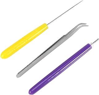 AKOAK Quilling Tool Set 3 Pcs//Set Origami Paper Quilling Tools 2 Assorted Needles /& 1 Slotted Tool Decorative DIY