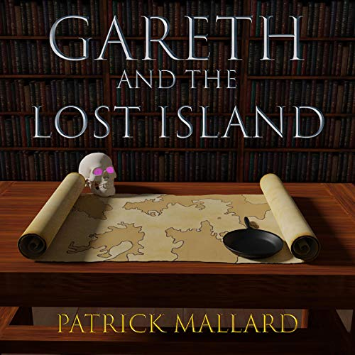 Gareth and the Lost Island audiobook cover art
