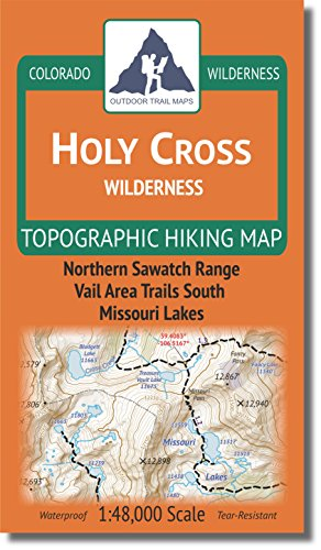 Holy Cross Wilderness - Colorado Topographic Hiking Map (2018)